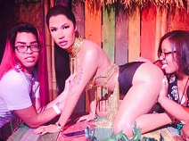 Nicki Minaj จะไม่ทน หุ่นขี้ผึ้งโดนทำอนาจาร