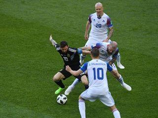 อาร์เจนตินา  1 - 1  ไอซ์แลนด์