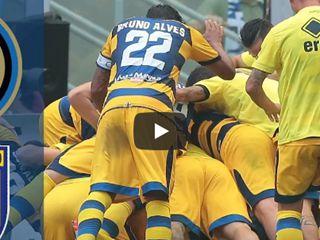 คลิปไฮไลท์กัลโช่ เซเรีย อา อินเตอร์ มิลาน 0-1 ปาร์ม่า