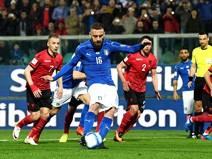 อัซซูรี่สุดแกร่งงัดฟอร์มเด็ดสยบแอลเบเนีย2-0
