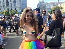 Linen Ling สาวเด็ดในงานขบวน ธงสึรุ้ง มันโอ้โหมาก !