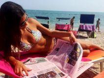 Elena Tambini อตีผู้ตัดสินอิตาลีโชว์รูปภาพส่วนตัว