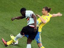 สวีเดน 0 - 1 เบลเยียม