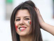 แฟนบอลสาวฝรั่่งเศส PK โปรตุเกส