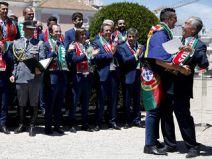 ท่านประธานาธิบดีโปรตุเกสต้อนรับแข้งฝอยทองเยี่ยงฮีโร่หลังซิวยูโร