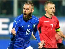 อิตาลี 2 - 0 แอลเบเนีย