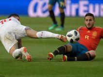 เดเคอาปัดไม่พ้น! สวิสตามซ้ำบุกเจ๊าสเปน 1-1 ลับแข้งก่อนบู๊บอลโลก