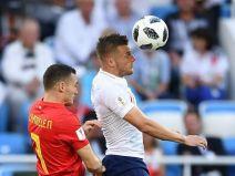 อังกฤษ 0 - 1 เบลเยียม