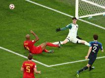 ฝรั่งเศส 1  - เบลเยียม 0