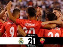 เรอัล มาดริด (สเปน)  2 - 1  โรม่า (อิตาลี)