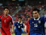 ทีมชาติไทย 0-0 ทีมชาติเกาหลีเหนือ