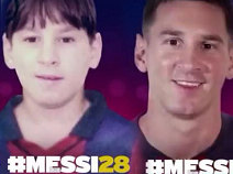 The unpublished images of Messi