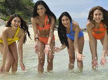 ทะเลแตก!!สาวมิสอินเตอร์ฯ ส่ายอึ๋ม สะบัดก้นประชันบิกินี่
