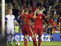 สเปน 4 - 0 ลักเซมเบิร์ก