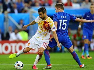 สเปนชนอิตาลี!โครแอตรัวแซง2-1แซงแชมป์กลุ่ม