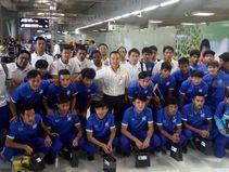 ยู-19หอบรองแชมป์อาเซี่ยนกลับถึงไทย