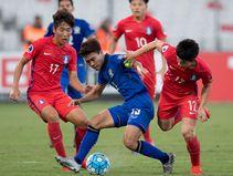 แข้งยู-19ไทยเปิดหัวศึกเอเชีย!พ่ายเกาหลีใต้1-3