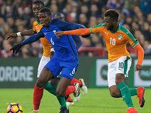 ฝรั่งเศส 0 - ไอวอรี่โคสต์ 0