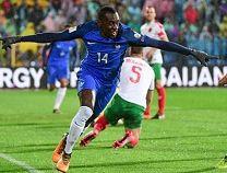 บัลแกเรีย 0   -   1 ฝรั่งเศส