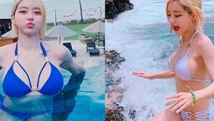 เซ็กซี่ตัวแม่!! DJ.Soda จัดเต็มชุดบิกินนี่ที่เกาะบาหลี เล่นเอาซี้ดกันทั้งหาด